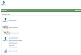 All EBSCOhost Databases Screenshot