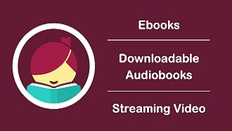 ebooks, downloadable audiobooks, streaming video