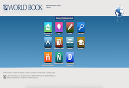 World Book Online Screenshot
