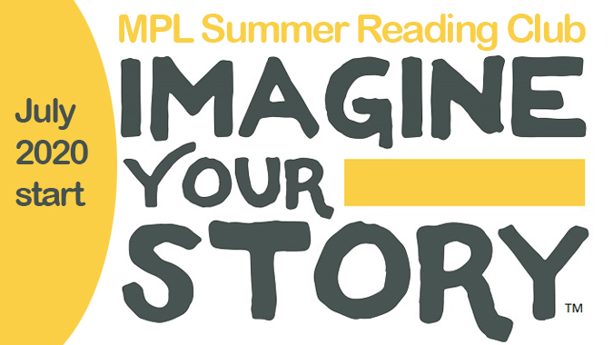 Summer Reading Club 2020 logo